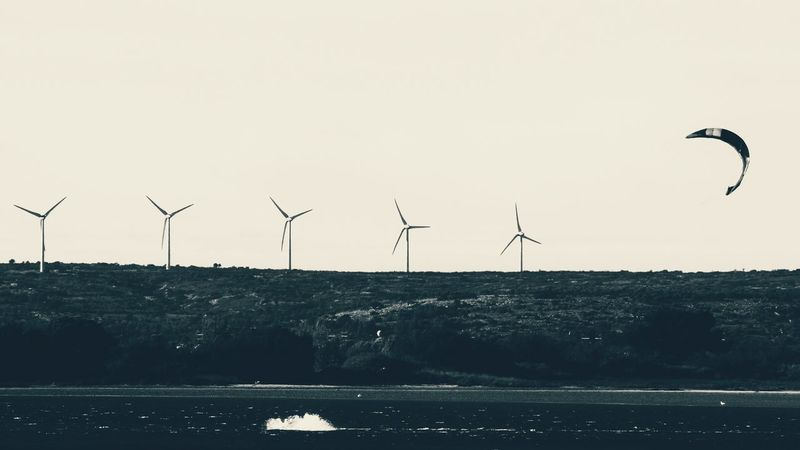 Alternative Energy Beauty In Nature Environmental Conservation Littoral Nature Renewable Energy Sport Wind Power Wind Turbine