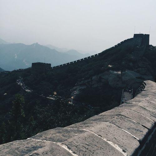 Travel Historical Building History EyeEm Best Edits EyeEm Best Shots Vscochina BEIJING北京CHINA中国BEAUTY Beijing 北京 China 中国 Great Wall Of China