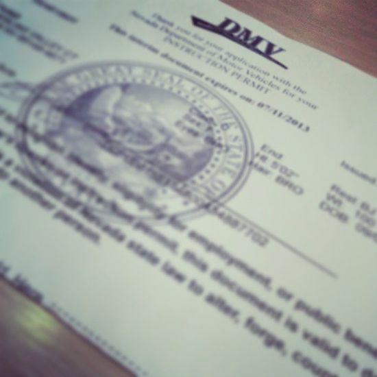 Finally ^__^ Permit