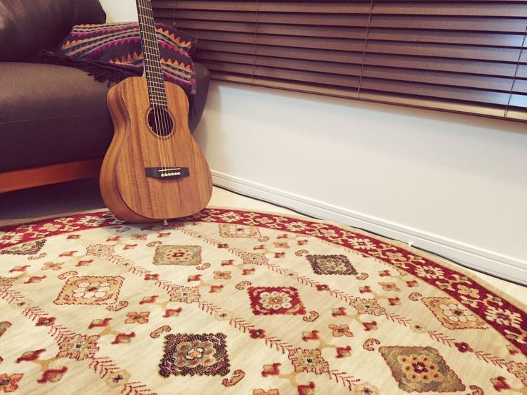 Guitar Holiday My Hobby Relaxing Relaxing Time Music Living Room