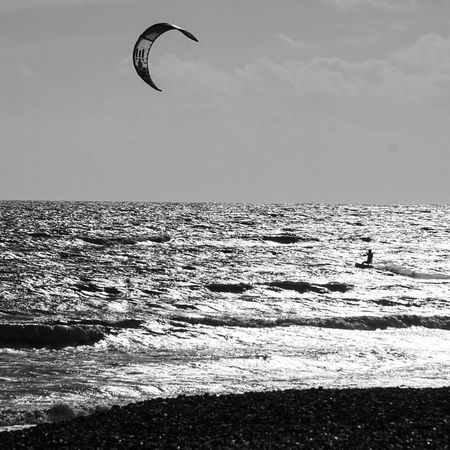 Kitesurfing 6 Sea Horizon Over Water Water Adventure Beauty In Nature Lifestyles Nature Leisure Activity Scenics Real People Extreme Sports Outdoors Parachute Day Paragliding Sport Kiteboarding Beach One Person Parasailing Kitesurfing Worthing