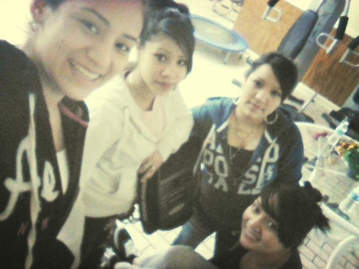 Yesterday At The Gym With This Lames ♥