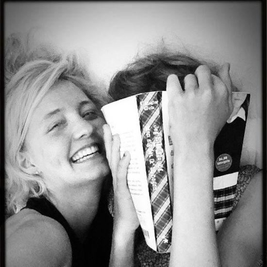My amazing little sister Blackandwhite Portrait Enjoying Life