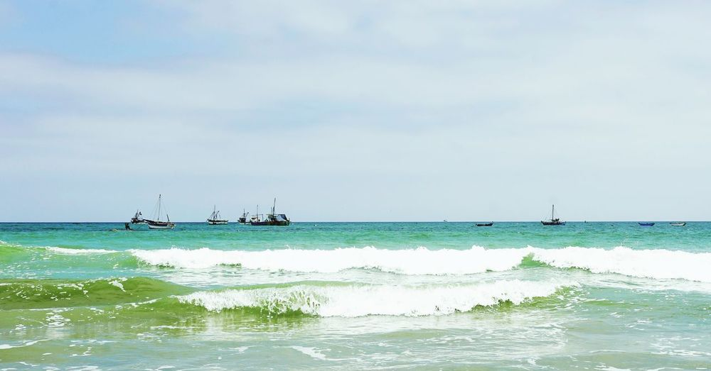 Sailing Away, Come What May Peru Beach Sailboat Sailing Ship Fishing Poorpeople Missiontrip Water God's Beauty Bluewater Waves Rollingwaves Simple Sea Nautical Vessel Horizon Over Water Nature Outdoors Day - Sky Tranquility