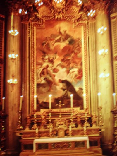 Europe Nopeople Peace Rome Golden Moments 43 View Inside Illuminated Painting Simple Pleasures In Life Beautiful