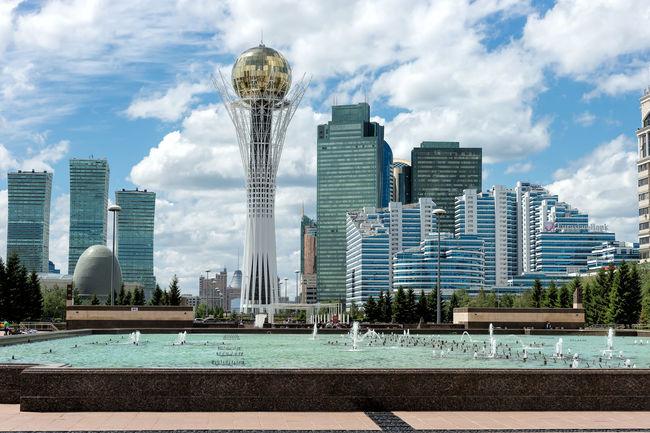 Astana I 2017 Architecture Astana Building Exterior Cityscape Kazakhstan Peter_lendvai Phototrip Sky Travel The Architect - 2018 EyeEm Awards The Traveler - 2018 EyeEm Awards