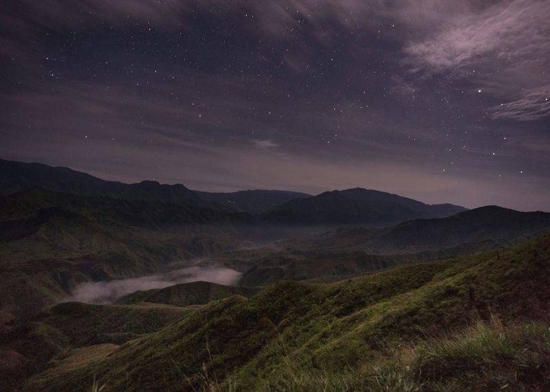 4am thoughts Long Exposure Nightphotography Agriculture Star - Space Night Mountain Astronomy No People Landscape Mountain Range Nature Outdoors