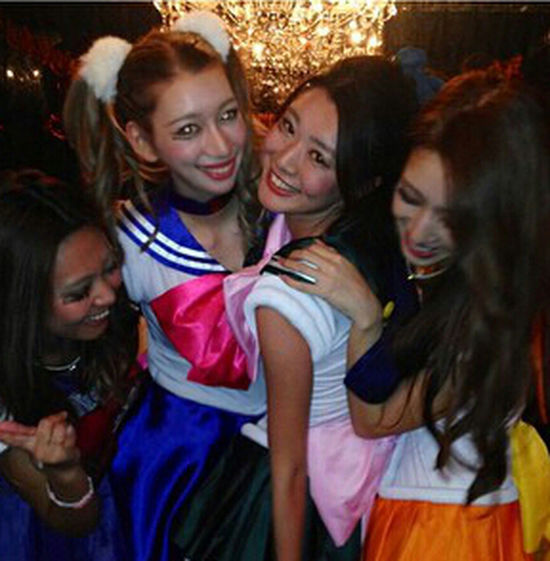 Party Guardian Sailor Moon Halloween Party Me And My Friend