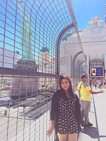 Las Vegas Likesforlikes Enjoying Life Family Trip Summer Summer2016 Viaje Vacaciones🌴 First Time Hot Day Desert Freedom Tower New York, New York A Wonderful Place...