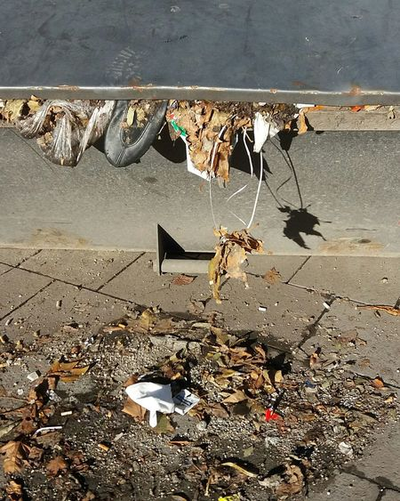 A Dancer has said Good bye.... Outdoors Day Sadness Garbage Garbage Can Litter Garbage City Shoe Broken Dream Broken Dreams Show Biz