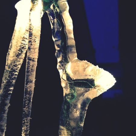 Nature made icicle lights