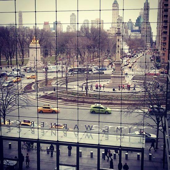 Columbus Circle Newyorkcity Newyork2015