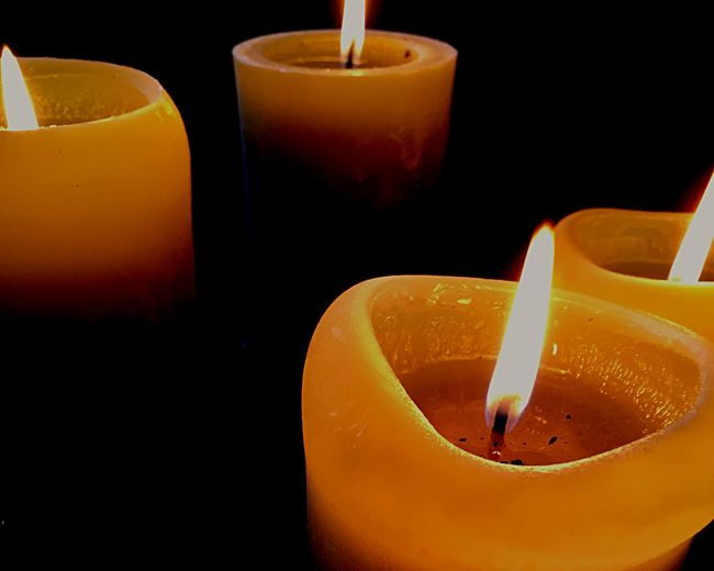 4. Advent - Candle Candlelight Christmas