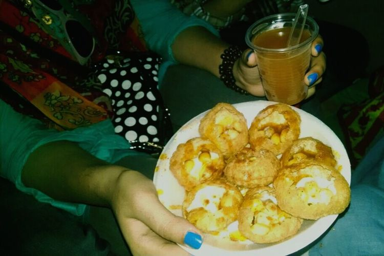 Hot And Spicy Gol Gappa Pakistanifood Yummyinmytummy