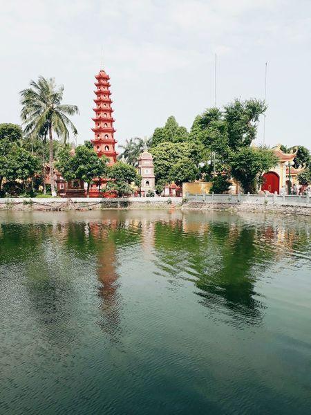 Tran Quoc pagoda in Vietnam