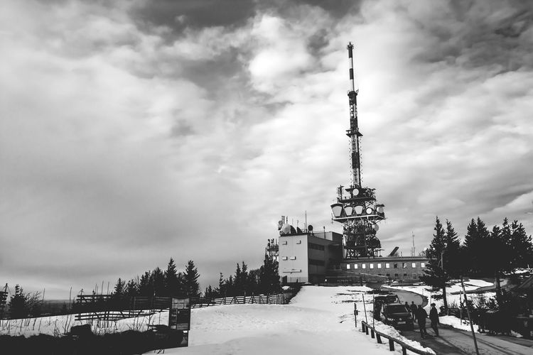 Landscapes With WhiteWall Bnw_captures Broadcasting Tower