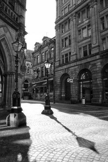 Architecture History Building Exterior Built Structure Street Sunlight Day Outdoors City No People Bradford Woolexchange Streetphotography Architecture Sculpture