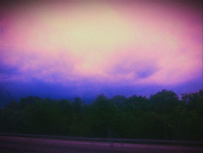 Road Trip Georgia Georgia Via Michigan Interstate View Camera Effects