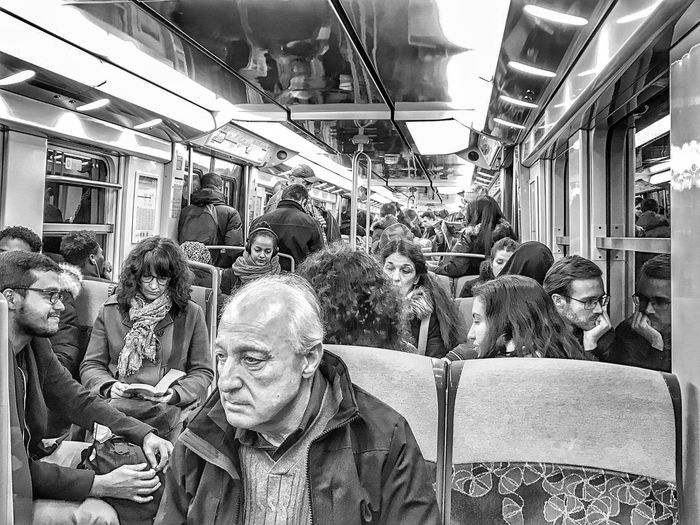 Tired 😯 An afternoon in the RerB Suburb of Paris France Waiting Game Subway Train Passenger Transportation Noir Et Blanc Blackandwhite Bnw IPhone Photography IPhoneography Iphonephotography EyeEm Iphoneonly EyeEm IPhoneography Mobilephotography Iphonographie Iphonephotooftheday Photooftheday Streetphotography EyeEm Gallery Moment