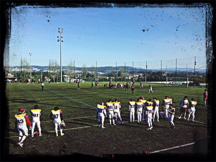 Game Day American Football Portugal Lumberjacks