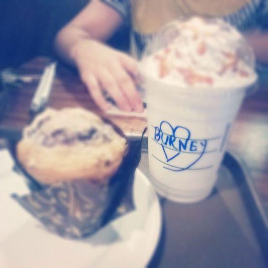 Starbucks Muffins Frappucino Instadaily instagram jeddah starbuckscoffee coffee muffins blueberry jeddah