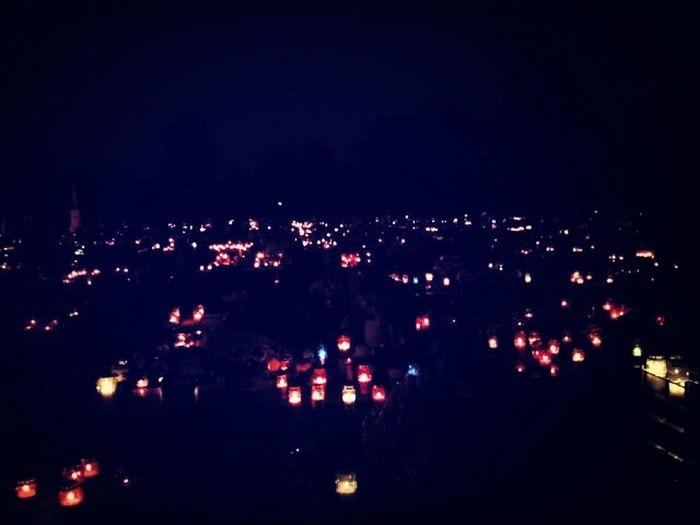 Cemetery HolyWin SviSveti Peaceful Night Light candles <3