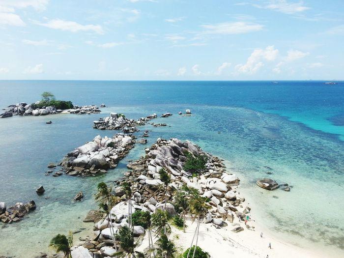 Pulau LengkuasBelitung Island INDONESIA Scenery Shots