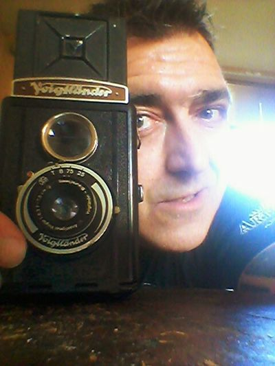 Me, My Camera And I Hello World Check This Out Really My Last Selfie My Camera Voigthander Brilliant 1932 My Treasure