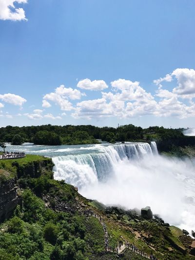 Niagara Falls New York New York Niagara Falls NY Waterfall Water Nature Motion Scenics Beauty In Nature No People