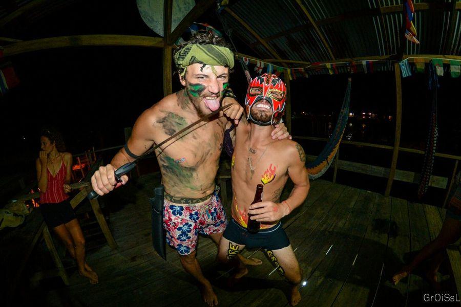 Snorkel Test Divemaster Diving Padi Utila Utila ♡ Honduras Final Test Parrots Portrait