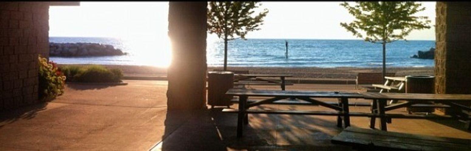 Lake Bluff Illinois Sun Amanecer