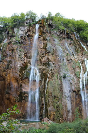 Croatia Djmarcop Trip Rock Formation Scenics Nature Long Exposure Beauty In Nature Blurred Motion Outdoors Travel Destinations Water No People Waterfall Cliff Tree Rock - Object Motion Day Sky
