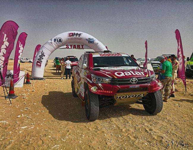 Qatar Cross Country Rally 2018 Toyota Hilux Toyota Car Rally Desert Rally Car Racing