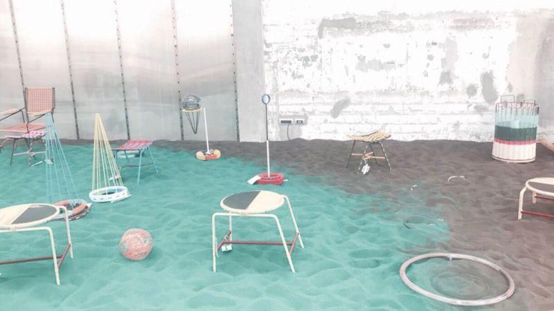 Indoors  Chair No People Table Window Day Milan Design Week 2017 Marni Design Milan
