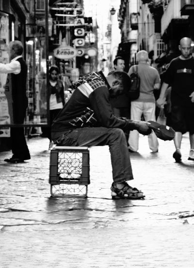 Africa Blackandwhite Blackandwhite Photography Bnw Charity Napoli Street Streetphotography First Eyeem Photo