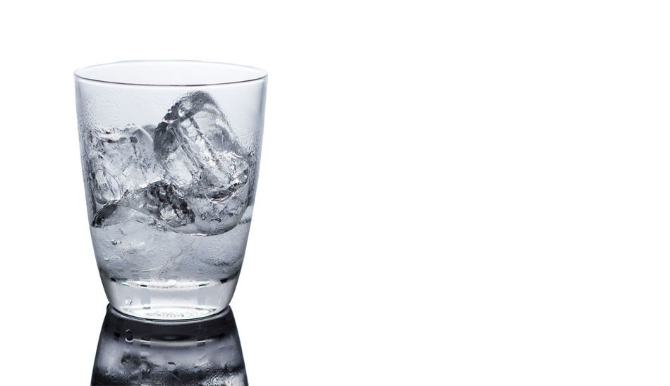 Bubble Close-up Cold Drink Cold Temperature Drink Drinking Glass Drinking Water Freshness Healthy Eating Ice No People Refreshment Studio Shot Tonic Water Water White Background