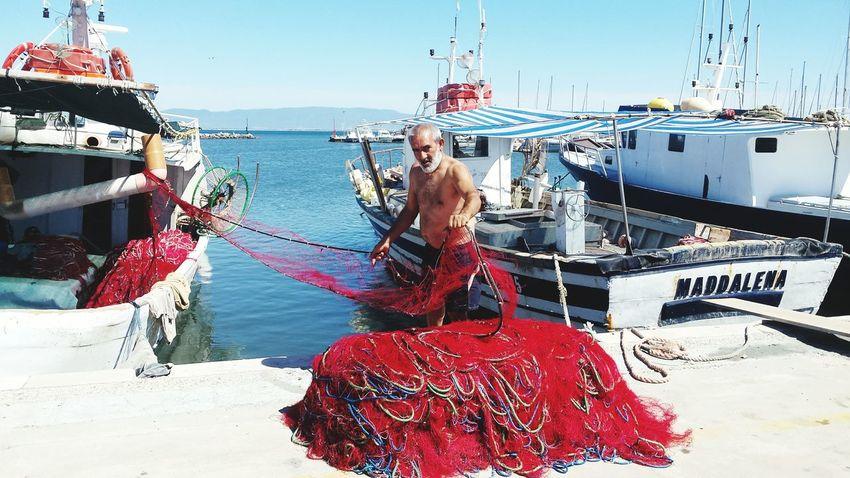 Sardegna la gente di mare Water Nautical Vessel Red Sea Harbor Summer Nature Tranquil Scene