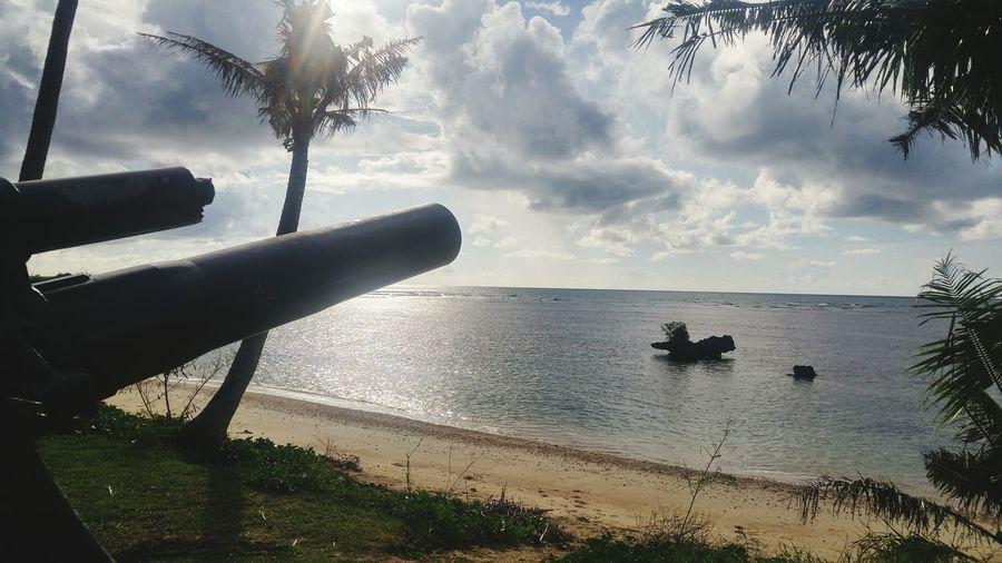 Guam Pacific War History Vacations Cloud - Sky Sky Beauty In Nature Sea Beach