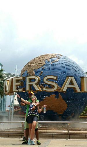 Selfie Universal Studios  Uss Singapore Selfie ✌ Streetphotography Street Photography RX100iv Coupleselfie