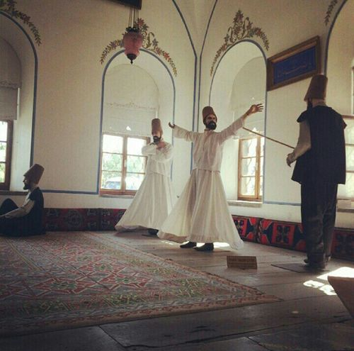 Mevlana Türbesi Semazenler Museum Dergah Konya Turkey