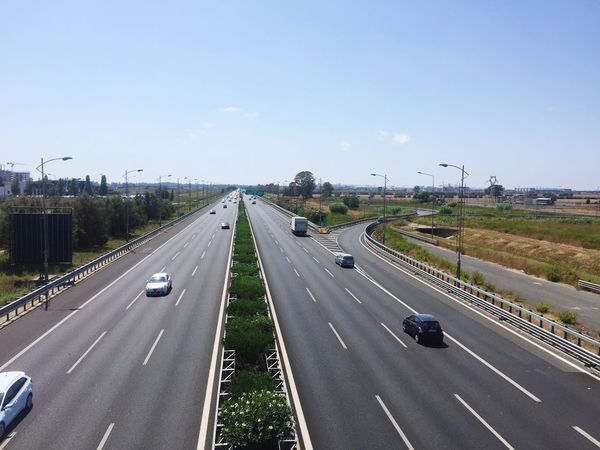 Motorway highway Highway 1 Rome Hanging Out Cars Traffic Italy Airport