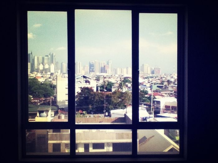 A view from my cousin's new condo space. View Window