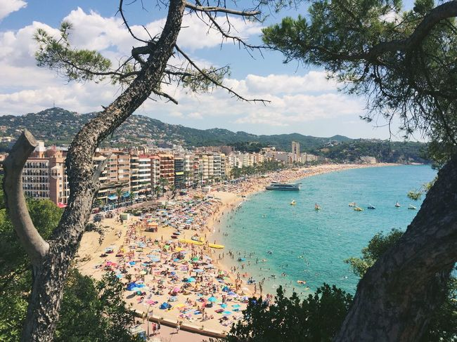 Beach Beachphotography Landscape Outdoors Sea Sea And Sky Seaside Seascape Catalunya Summer Summer Views TakeoverContrast