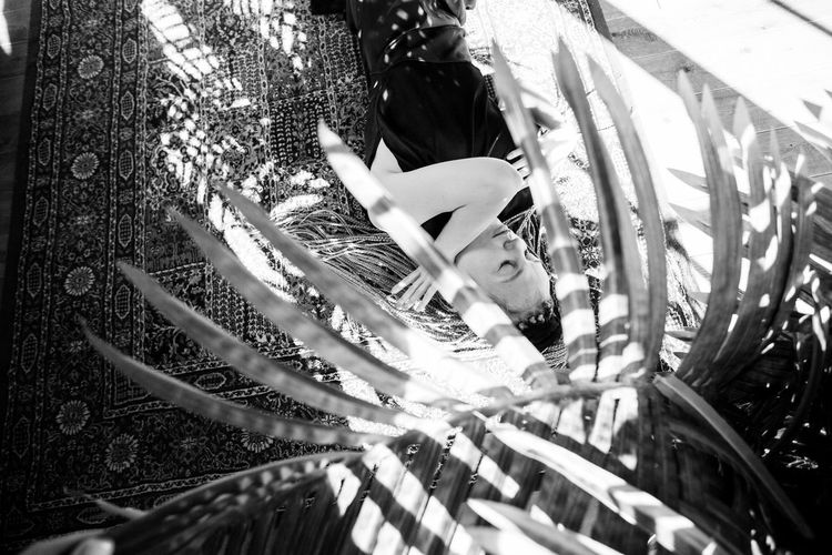 A New Perspective On Life Plant Day Nature Selective Focus Sunlight Close-up High Angle View Leisure Activity Bw Blackandwhite Black And White Black & White EyeEm Selects EyeEm Best Shots Women Photography Photographer Photooftheday EyeEm Gallery Portrait