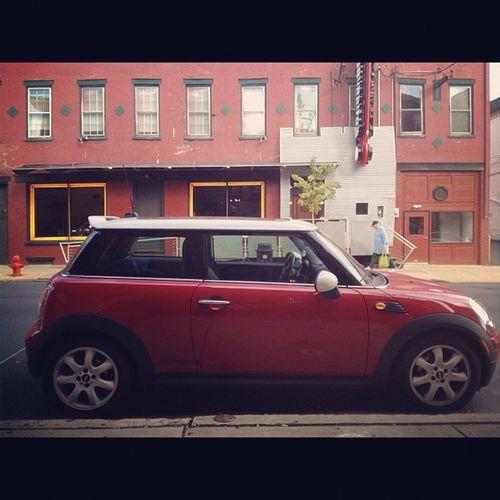 Driving in Lancaster PA Mini Mincooper Minilove Minimonday letsmotor mrbeanmobile cars picoftheday instagood iiphonesia worldwideminiclub instamood iphoneonly pa