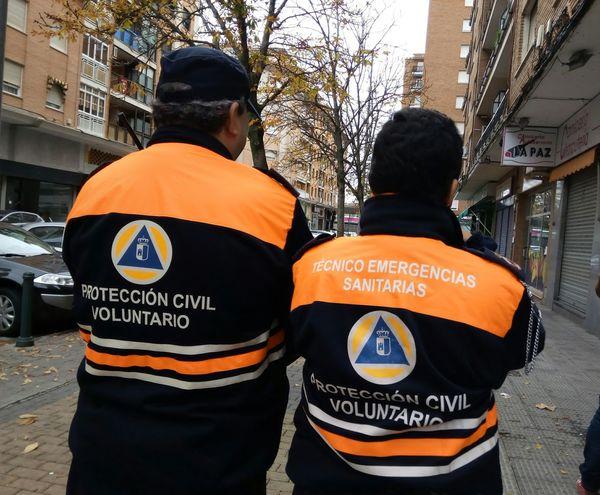 Protección Civil AGente Agentes Tecnico Sanitário Voluntario Voluntarios SPAIN España Castilla La Mancha Tecnico Emergencias Emergency Emergencias