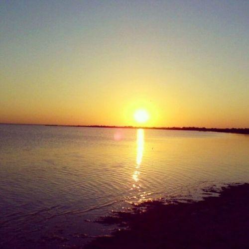 "Lake Sunset ""Белое озеро"""