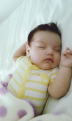 My everything Sleeping Baby  My Baby Cousin ❤ Janaai