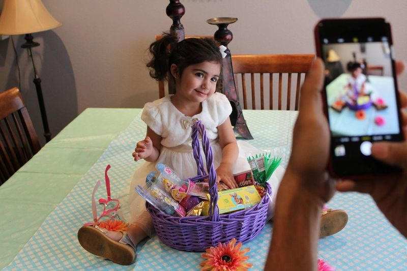 What a ham on Easter Sunday! Adorable Colour Of Life Cute Double Take  Easter Gorgeous Innocence Love Niece  Vegas Life