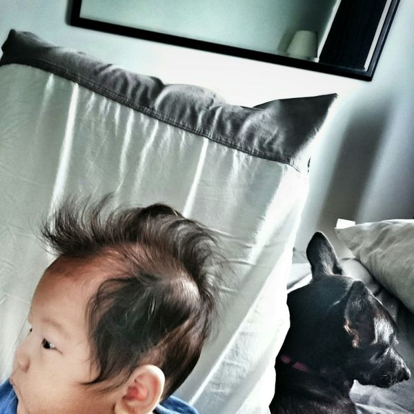 Son and dogter. Hanging Out Olliedays Portraits By Meese Homeward Bound Amk Home Sweet Home Family Portrait
